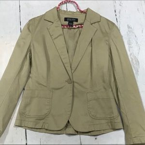 New York & Company Tan Woman's Blazer